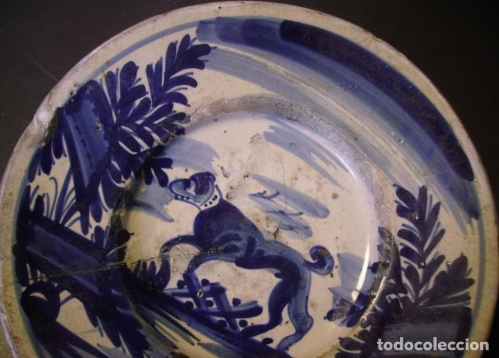 Antigüedades: PLATO CERÁMICA CATALANA XVIII - Foto 3 - 276242058