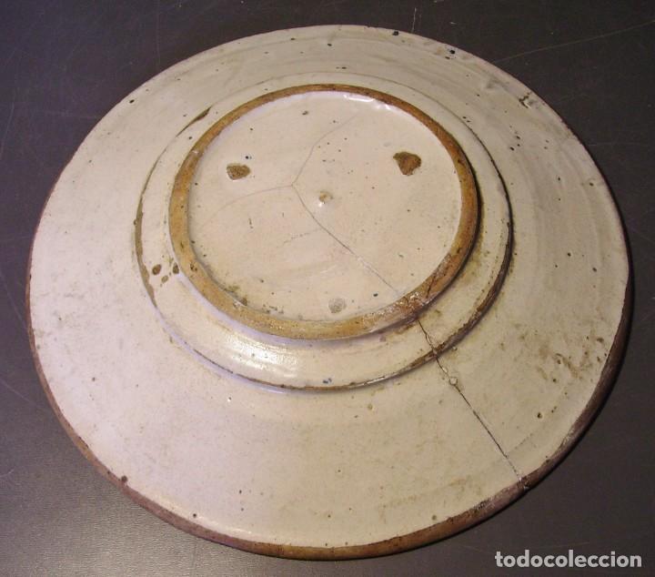 Antigüedades: PLATO CERÁMICA CATALANA XVIII - Foto 13 - 276242058