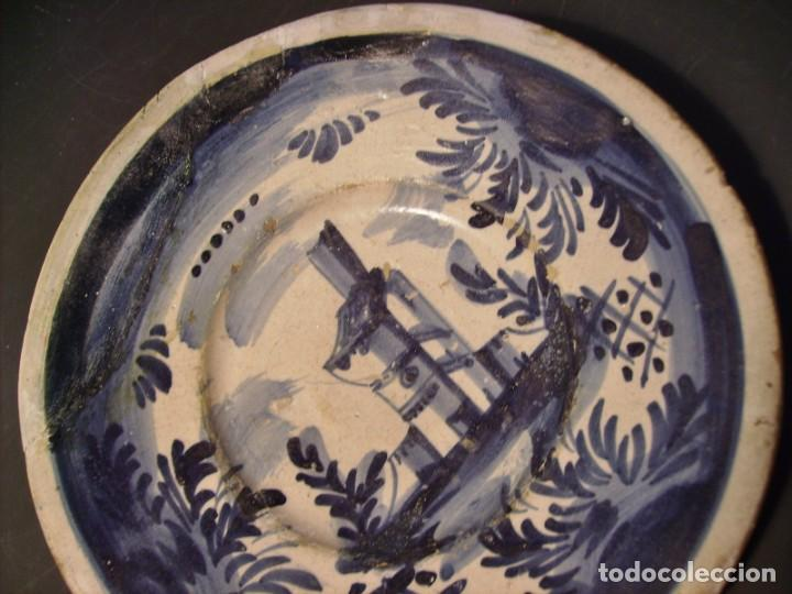 Antigüedades: PLATO CERÁMICA CATALANA XVIII - Foto 4 - 276242293