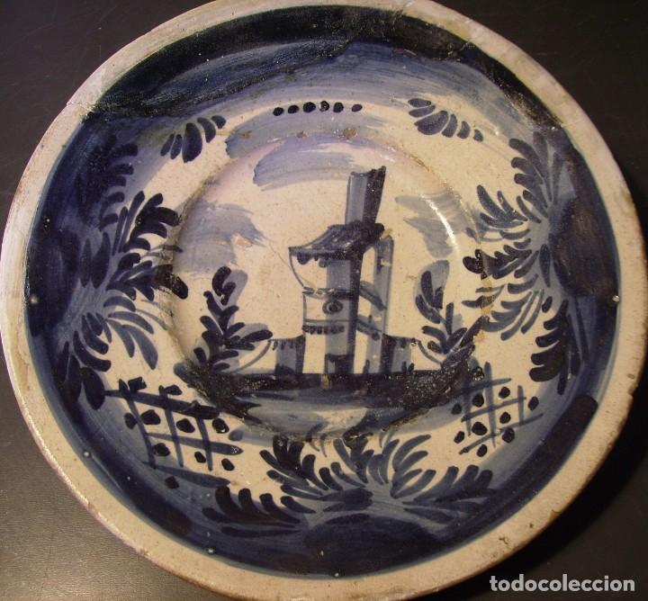 Antigüedades: PLATO CERÁMICA CATALANA XVIII - Foto 7 - 276242293