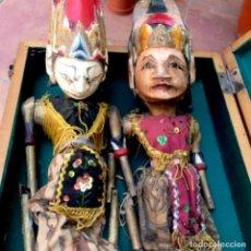 Antigüedades: ANTIGUAS MARIONETAS , TÍTERES TEATRALES DEL SIGLO XIX. Lote 276363643