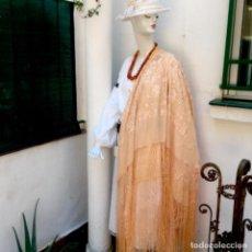 Antigüedades: COLLAR DE ÁMBAR AUTÉNTICO , MUY ORIGINAL. Lote 276367063