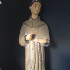Antigüedades: ANTIGUA FIGURA RELIGIOSA. Lote 276397108