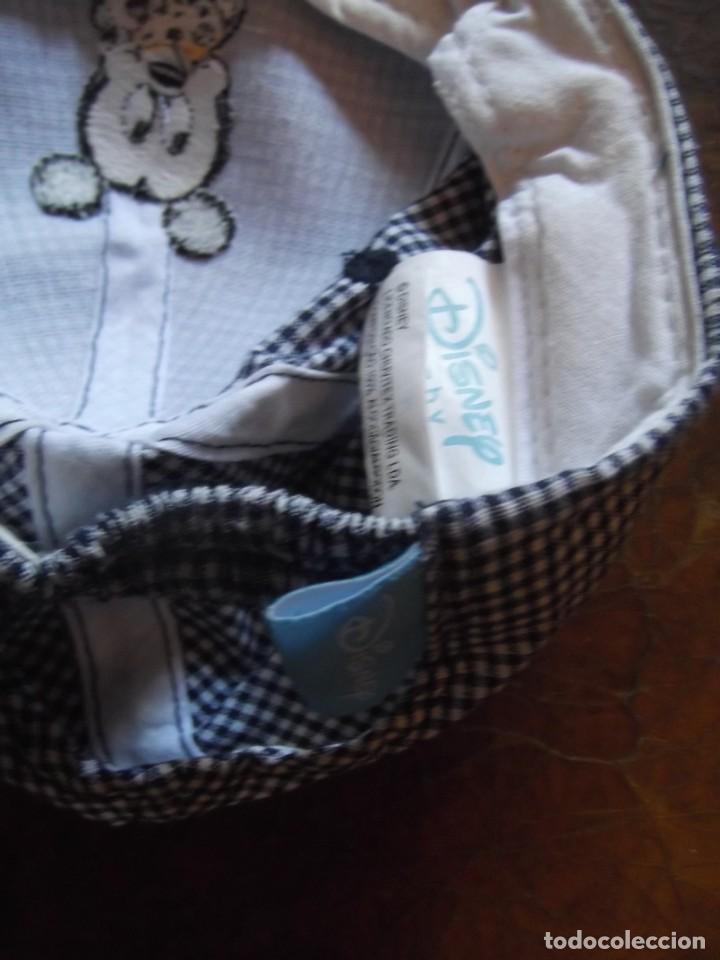 Antigüedades: Gorra de niño como nueva , Mickey marca registrada - Foto 4 - 276399278