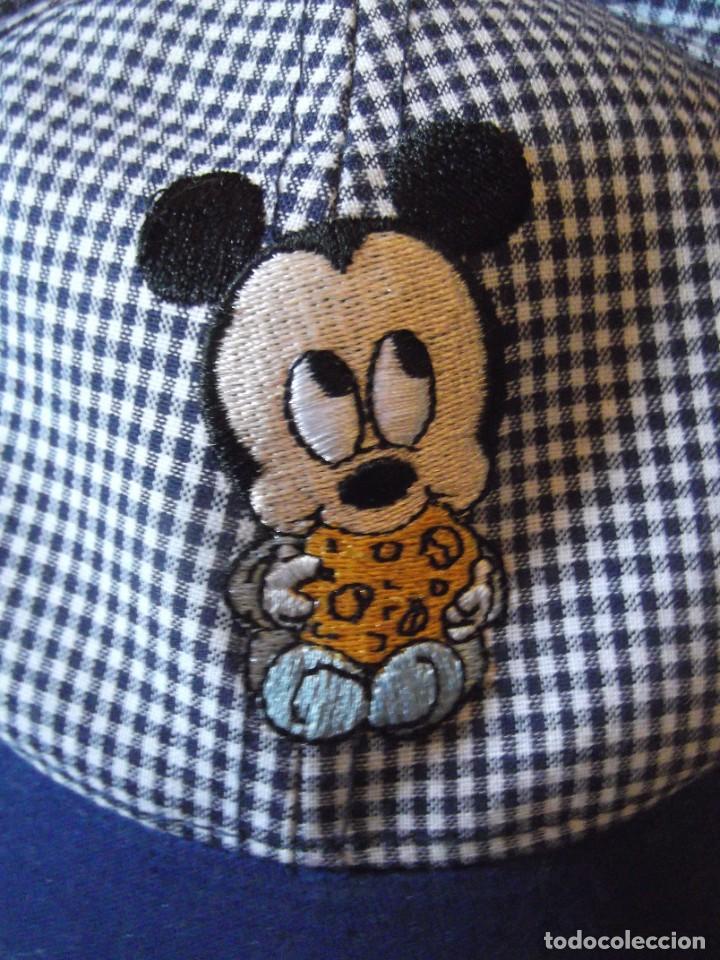 Antigüedades: Gorra de niño como nueva , Mickey marca registrada - Foto 2 - 276399278