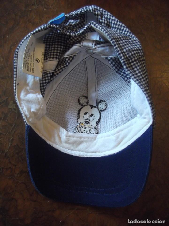 Antigüedades: Gorra de niño como nueva , Mickey marca registrada - Foto 3 - 276399278