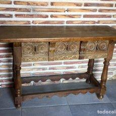 Antiquités: TAQUILLÓN DE MADERA.. Lote 276406818