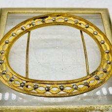 Oggetti Antichi: HEBILLA MODERNISTA DE ORO. Lote 276425518
