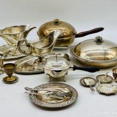 Antigüedades: LOTE DE COCINA DE LUJO PLATEADA. Lote 276430113