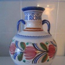 Antigüedades: JARRON DE CERAMICA DE PUENTE. Lote 276444503