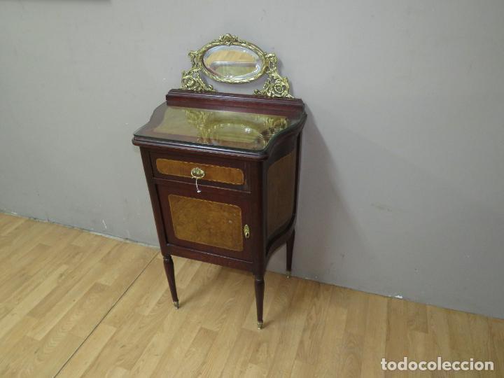 MESILLA PRECIOSA ESTILO IMPERIO PERFECTO ESTADO (Antigüedades - Muebles Antiguos - Auxiliares Antiguos)