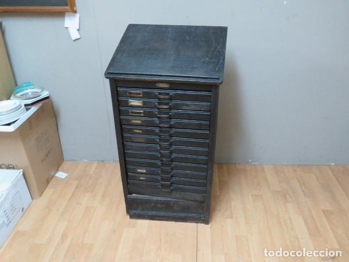 Antigüedades: MUEBLE IMPRENTA MEDIDA ESPECIAL - Foto 11 - 276469743
