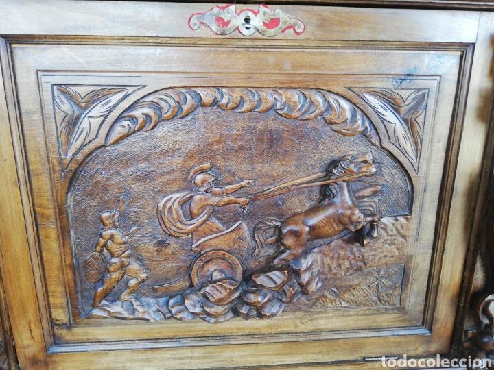 Antigüedades: Bargueño tallado - Foto 6 - 276476948