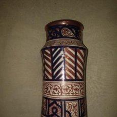 Antiquités: GRAN ALBARELO DE MANISES DE REFLEJO DORADO DE LA CERAMO. Lote 276488798