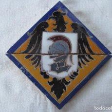 Antigüedades: AZULEJO HERALDICO RAMOS REJANO. Lote 276489588