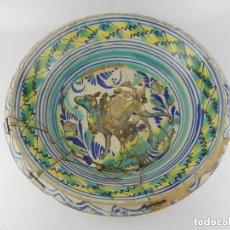 Antiguidades: ANTIGUO PLATO O LEBRILLO ENORME DE CERAMICA PARA RESTAURAR - SOLO RECOGIDA LOCAL. Lote 276494268