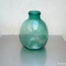 Antigüedades: ANTIGUA GARRAFA DAMAJUANA DE BOCA ANCHA.16 LITROS.. Lote 276496183