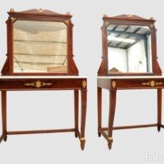 Antigüedades: CONSOLAS IMPERIO. Lote 276574548