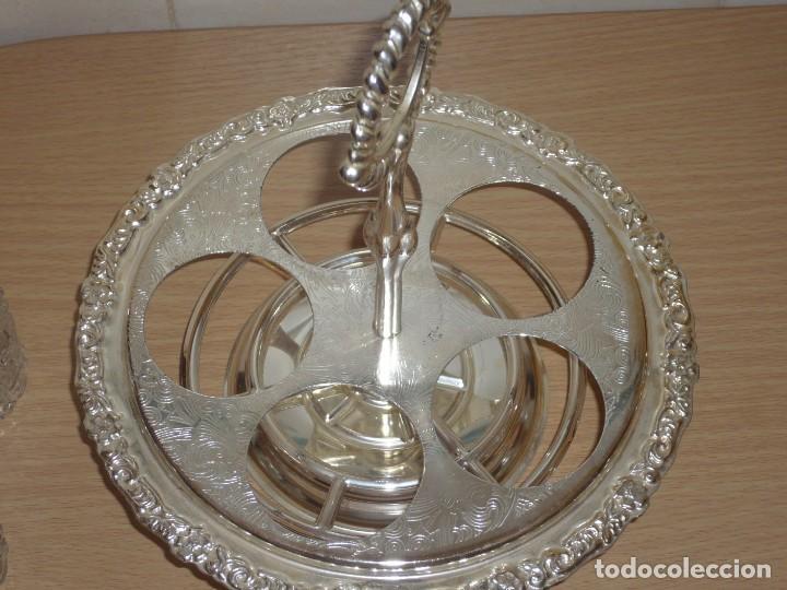 Antigüedades: Servicio de Mesa Giratorio. ( Made in England ) - Foto 4 - 276591808