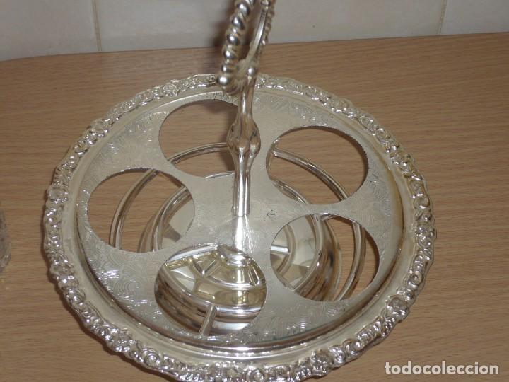 Antigüedades: Servicio de Mesa Giratorio. ( Made in England ) - Foto 7 - 276591808