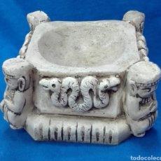 Antigüedades: CENICERO PIEDRA. Lote 276598533