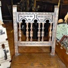 Antigüedades: PAREJA DE SILLAS TORNEADAS.. Lote 276631288