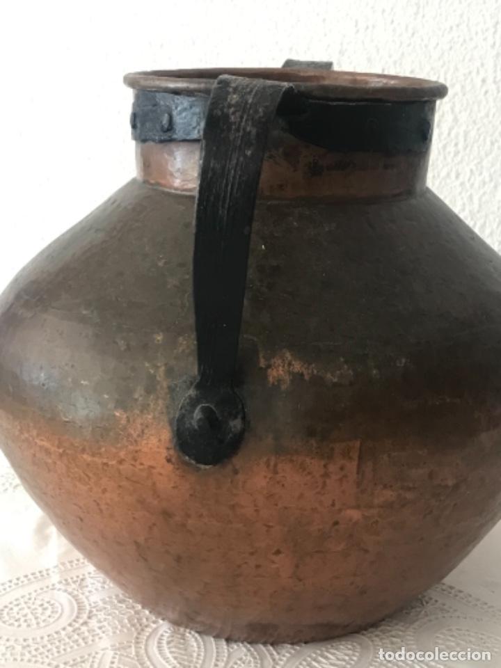 Antigüedades: OLLA DE GRAN TAMAÑO DE COBRE SIGLO XVIII-XIX. - Foto 11 - 276638353