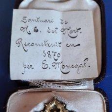 Antigüedades: (ANT-210706)MEDALLA SANTUARI DE N.S.DEL HORT RECONSTRUIT EN 1870 PER E.MONEGAL. Lote 276640978
