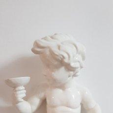 Antigüedades: LAMPARA ANGELOTE CERÁMICA MANISES. Lote 276643578