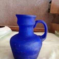 Antigüedades: JARRA DE CRISTAL SOPLADO. Lote 276682258