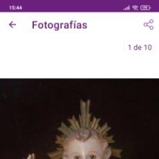 Oggetti Antichi: CAP I POTA PRECIOSA TALLA DE MADERA POLICROMADA ANTIGUA SIGLO XIX NIÑO JESÚS. Lote 276686853