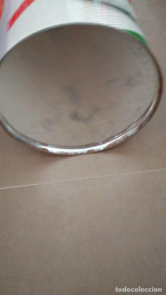 Antigüedades: PAPELERA METALICA PRIVATA AÑOS 70 25X30CMS - Foto 3 - 276706453