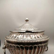 Antigüedades: SOPERA METAL PLATEADO ESTILO BARROCO AÑOS 50. Lote 276752883