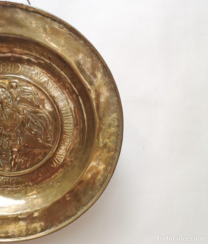 Antigüedades: Plato Limosnero San Cristóbal - Foto 3 - 276812883