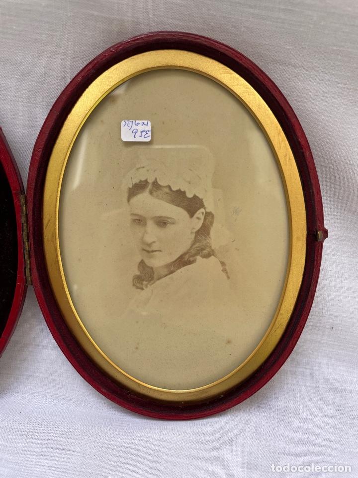 Antigüedades: Marco de fotos siglo XIX - Foto 2 - 276820123