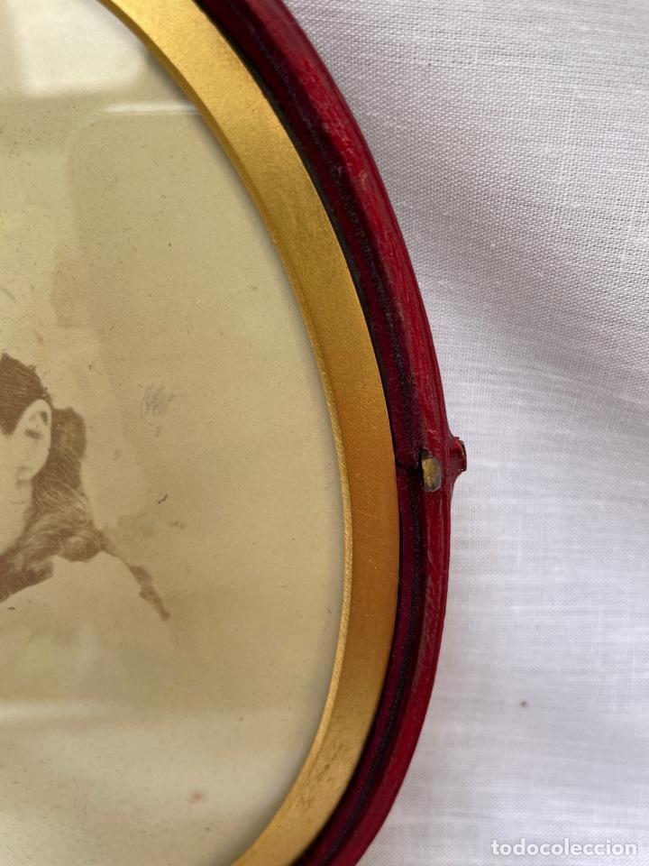 Antigüedades: Marco de fotos siglo XIX - Foto 5 - 276820123