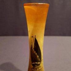 Antigüedades: PRECIOSO FLORERO EUROPEO DE CRISTAL MUY FINO. Lote 276917523