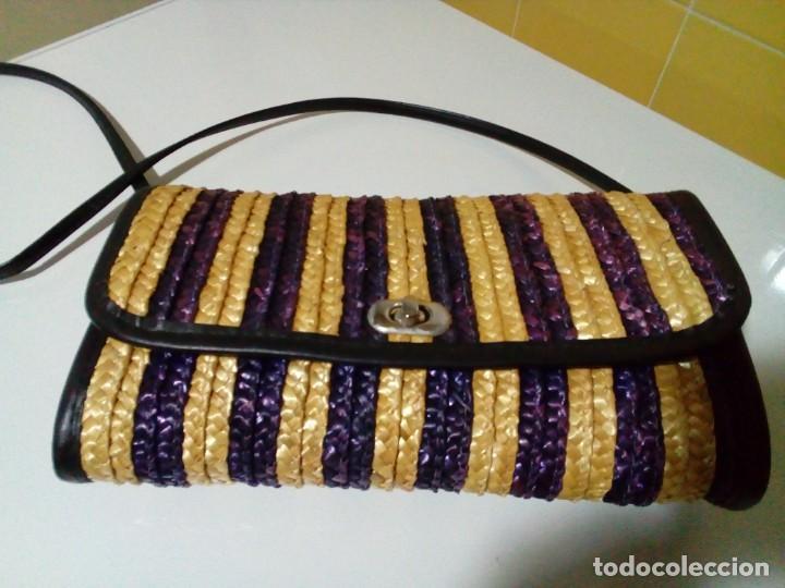 Antigüedades: bonito bolso - Foto 2 - 276923478