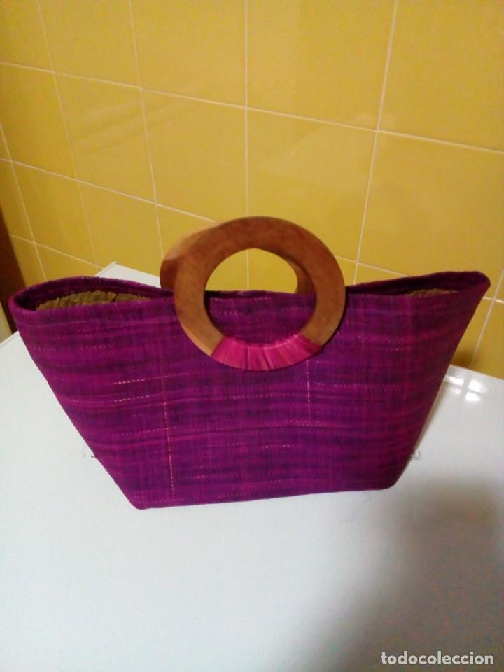 Antigüedades: bonito bolso - Foto 2 - 276923698