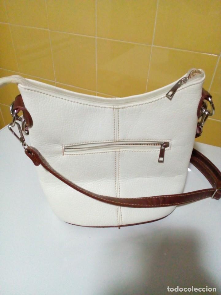 Antigüedades: bonito bolso de piel - Foto 2 - 276923993