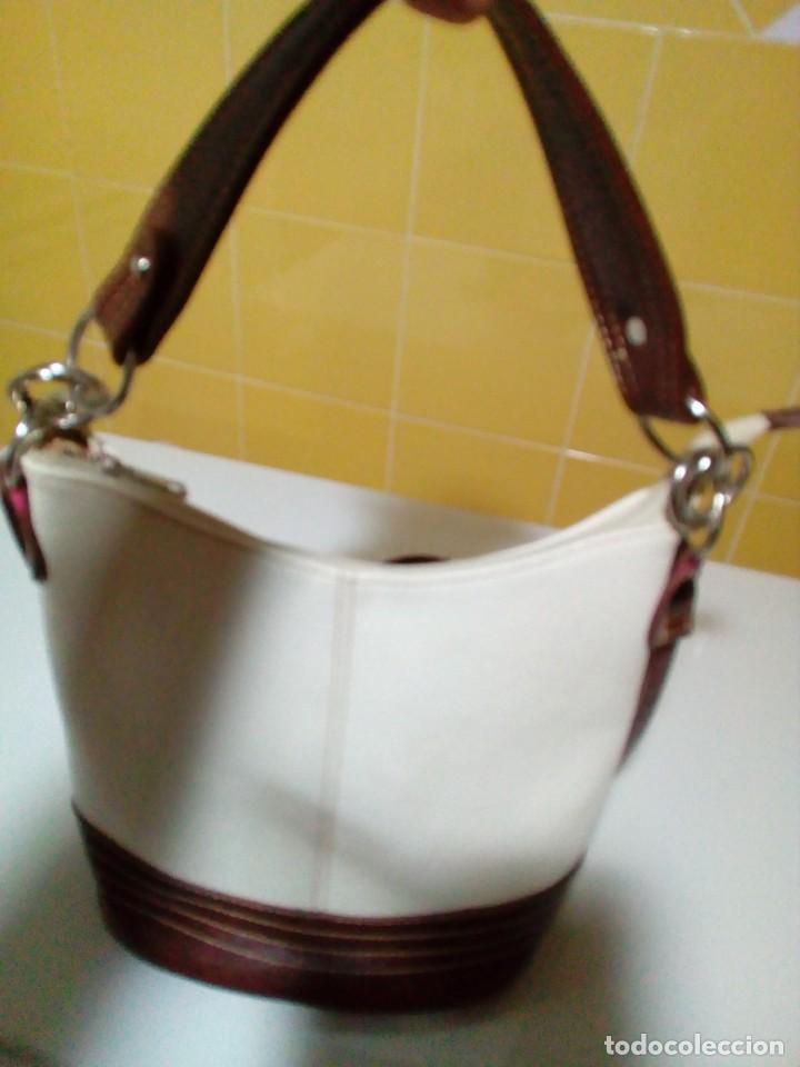 Antigüedades: bonito bolso de piel - Foto 4 - 276923993