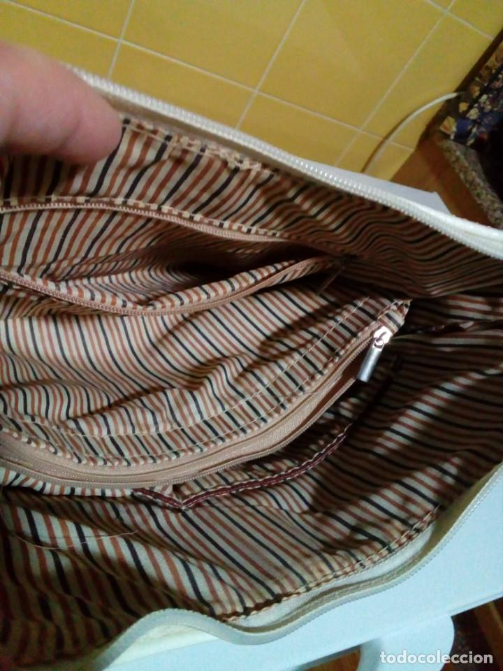 Antigüedades: bonito bolso de piel - Foto 5 - 276923993