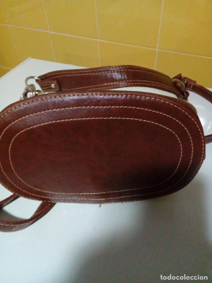 Antigüedades: bonito bolso de piel - Foto 6 - 276923993