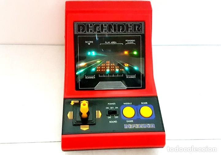 DEFENDER - LSI GAME - TIPO WATCH & GAME (Antigüedades - Muebles Antiguos - Consolas Antiguas)