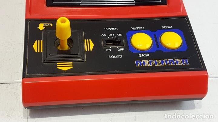 Antigüedades: DEFENDER - LSI GAME - TIPO WATCH & GAME - Foto 5 - 276932628