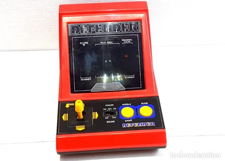 Antigüedades: DEFENDER - LSI GAME - TIPO WATCH & GAME - Foto 6 - 276932628