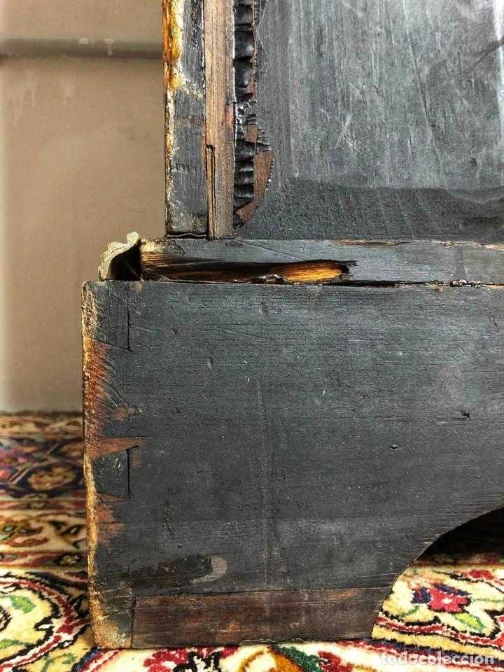 Antigüedades: Vitrina Luis XVI en Raiz y Pluma de Nogal Siglo XVIII - Foto 3 - 276936563