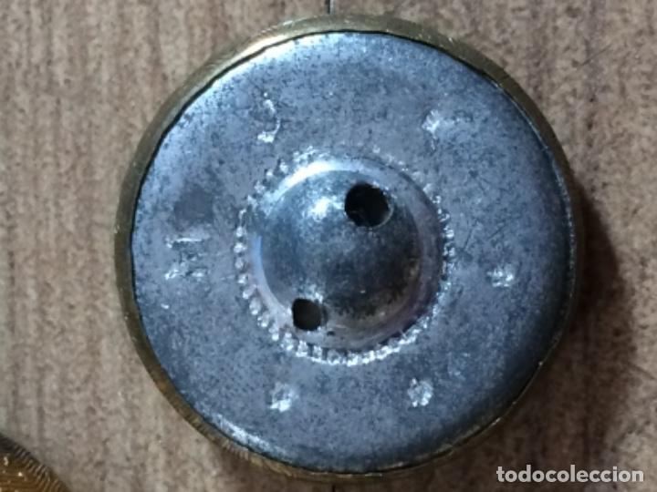 Antigüedades: LOTE DE 12 BOTONES ANTIGUOS DE UNIFORME - Foto 3 - 276938603