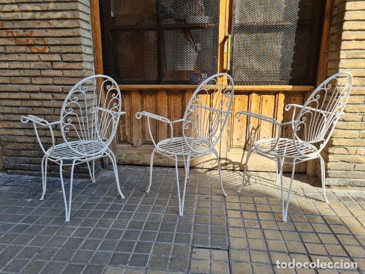 Antigüedades: Sillas jardín - Foto 2 - 276938648