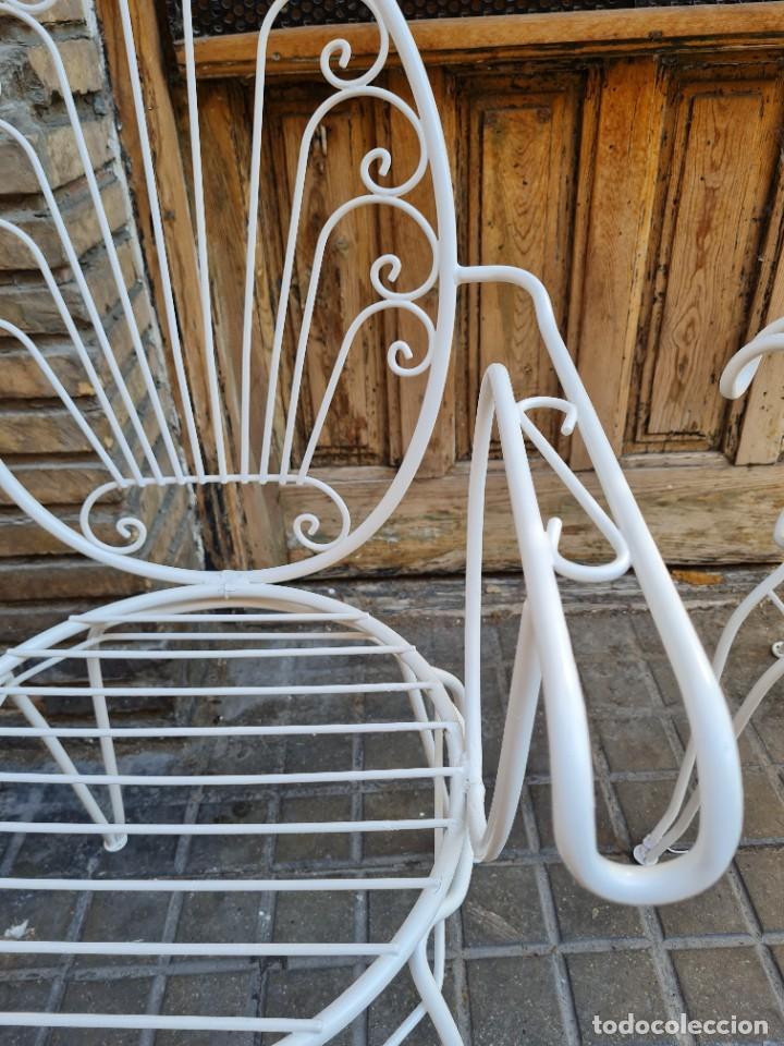Antigüedades: Sillas jardín - Foto 3 - 276938648